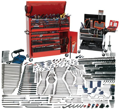 JH Williams WSC-1390TB 1390-Piece Mammoth Tool Set