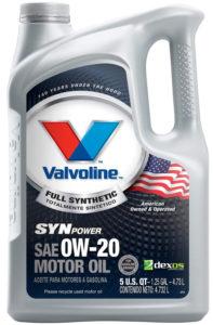 Valvoline SynPower 0W-20
