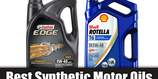 Buyers' Choice for the Best Synthetic Motor Oils