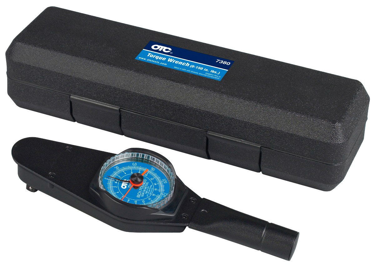 OTC 7380 Accutorq 0-150 in. lbs. Dial Torque Wrench