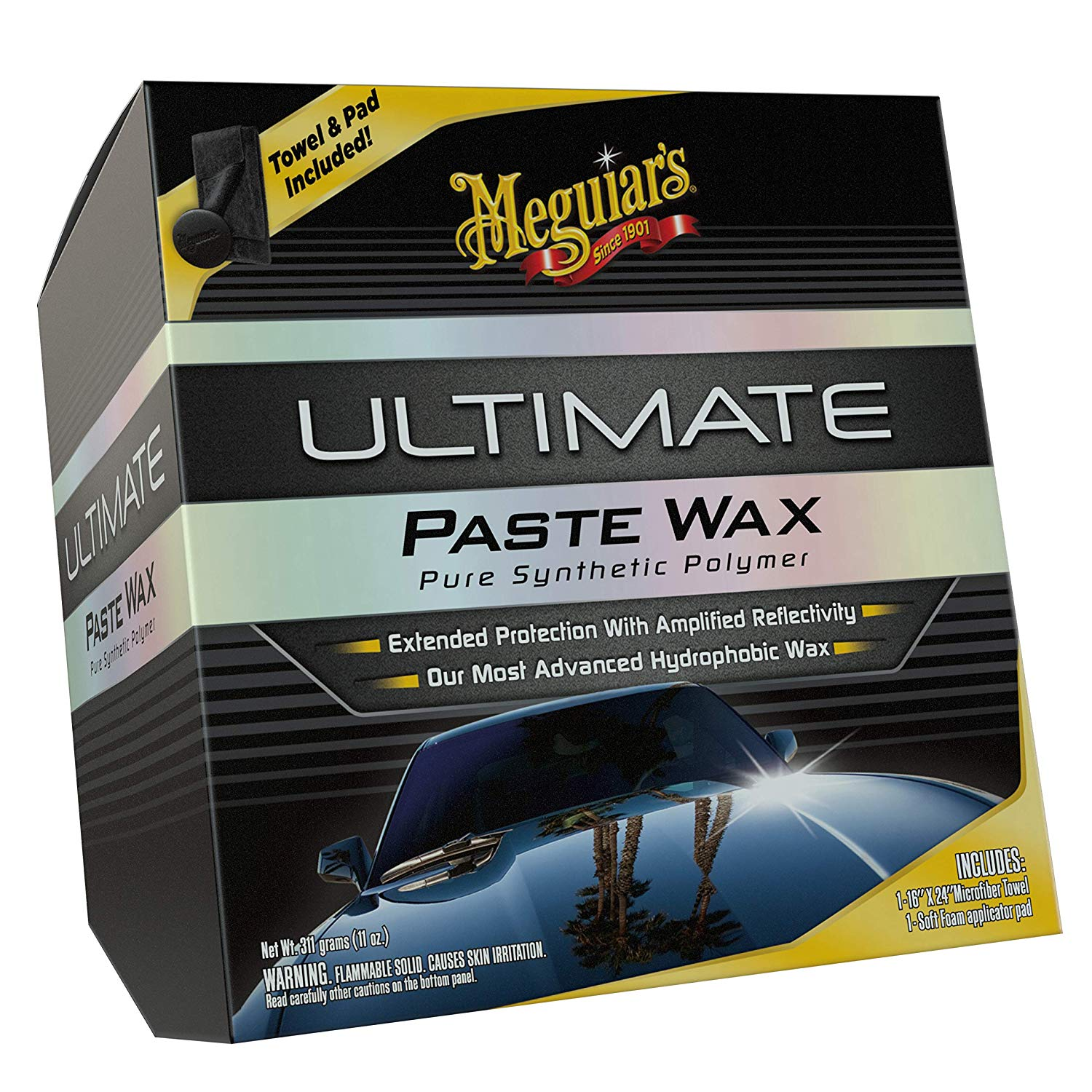 Meguiar's G18211 Ultimate Paste Wax