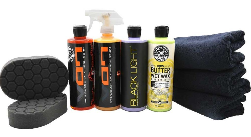 Chemical Guys HOL203 Black Car Care Kit