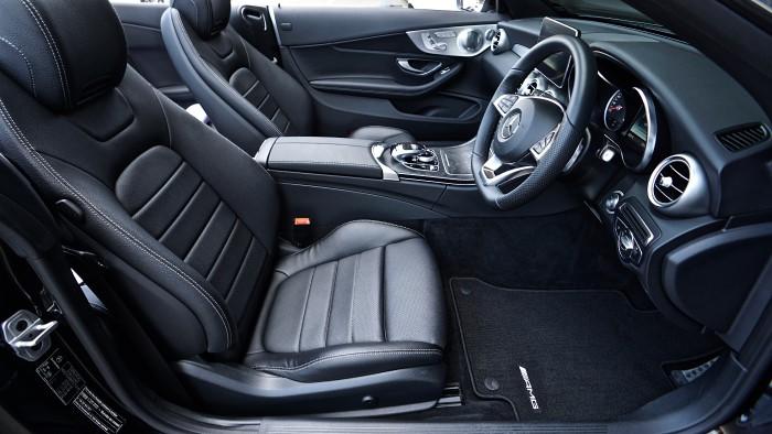 car leather black