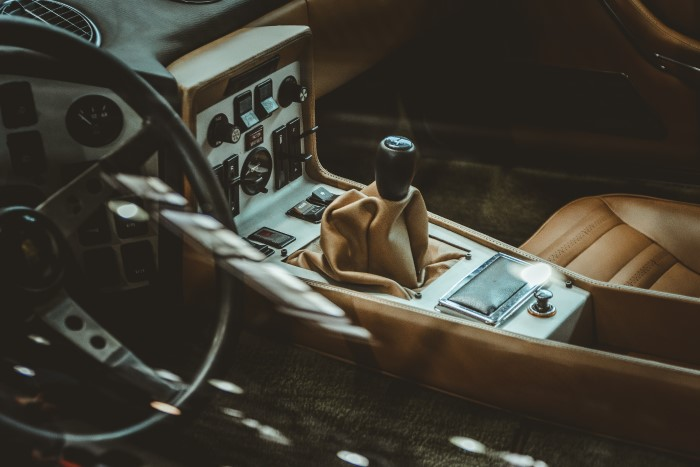 leather interior car