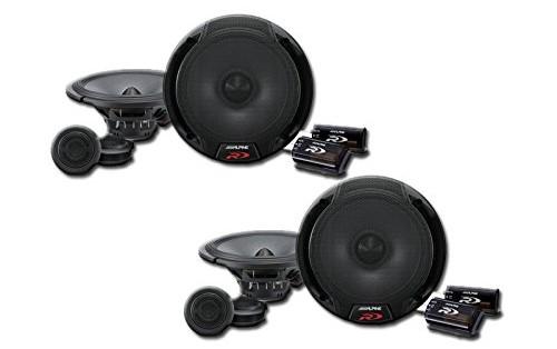 """Alpine SPR-60C 6.5"""" Audio Component System"""