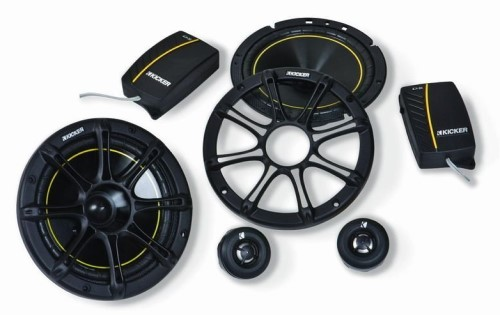 "Kicker DS65 6.5"" DS Series Car Audio Speakers"