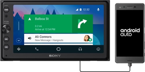 "Sony XAV-AX100 6.4"" Car Play/Android Auto Media Receiver"