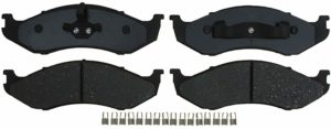 ACDelco 14D477CH Advantage Ceramic Front Disc Brake Pad Set