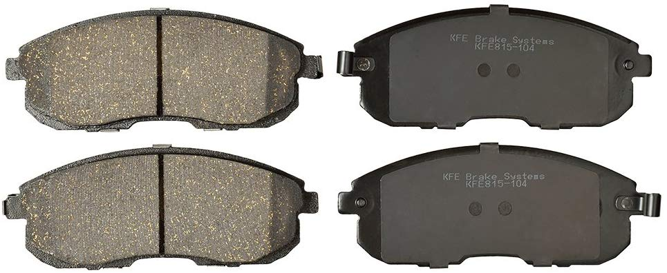 KFE Ultra Quiet Advanced KFE815-104 Premium Ceramic Front Brake Pad Set