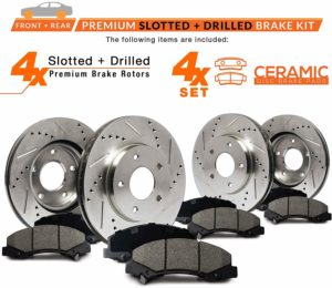 Max Brakes Front & Rear Performance Brake Kit