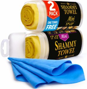 Mighty Cleaner Shammy Towel Chamois Cloth for Car