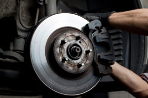 brake pad installation