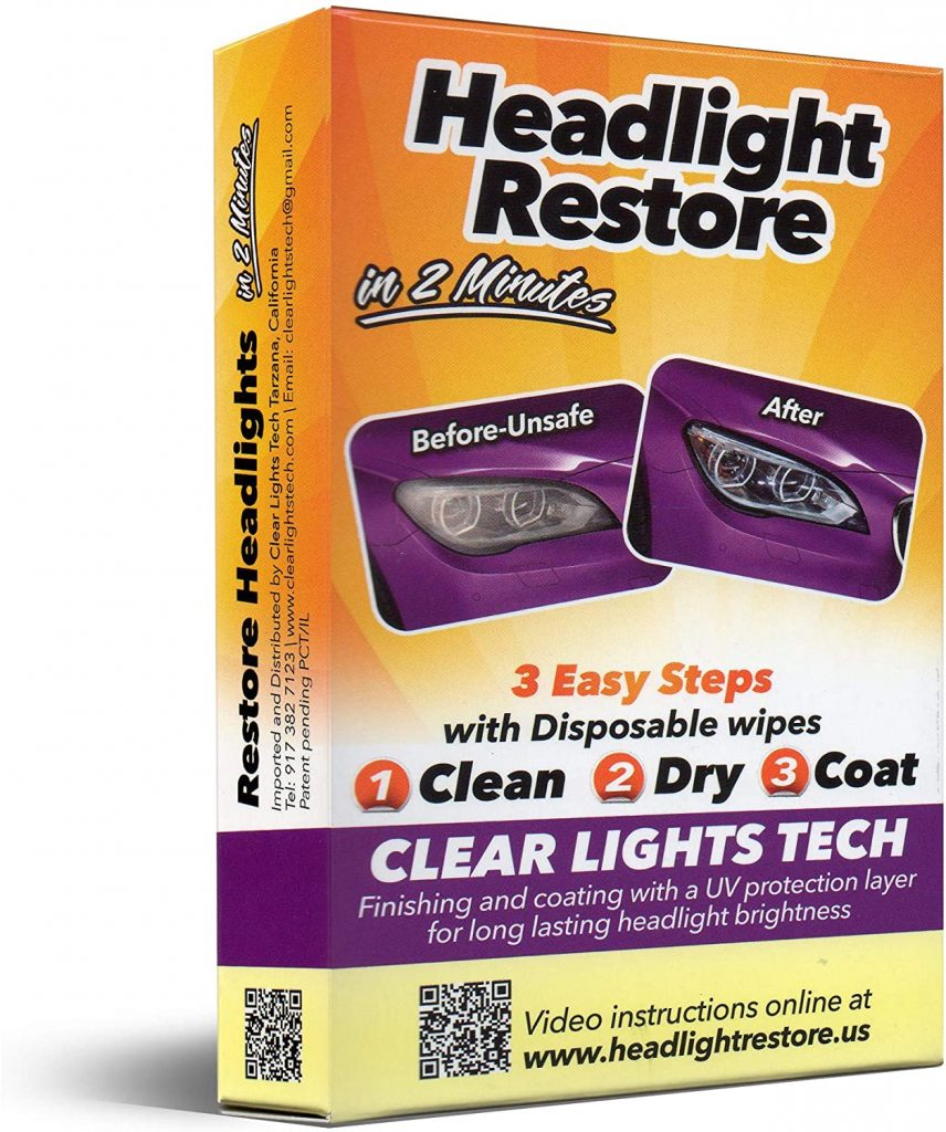 CLT Headlight Restoration Kit