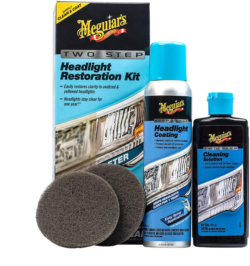 Meguiar's Two-Step Restoration Headlight Kit