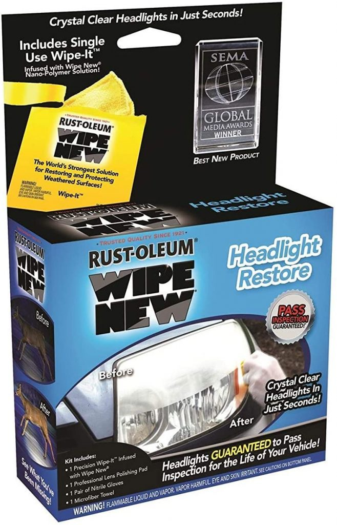 Rust-Oleum Wipe New Headlight Restore