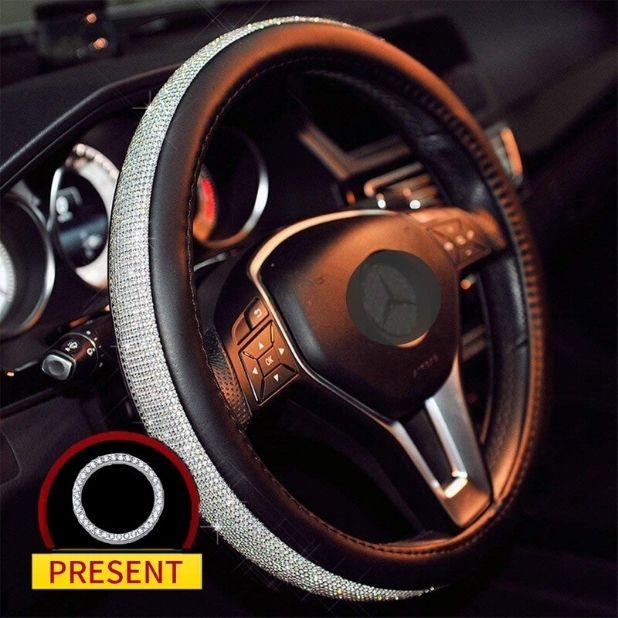 Sino Banyan Diamond Steering Wheel Cover