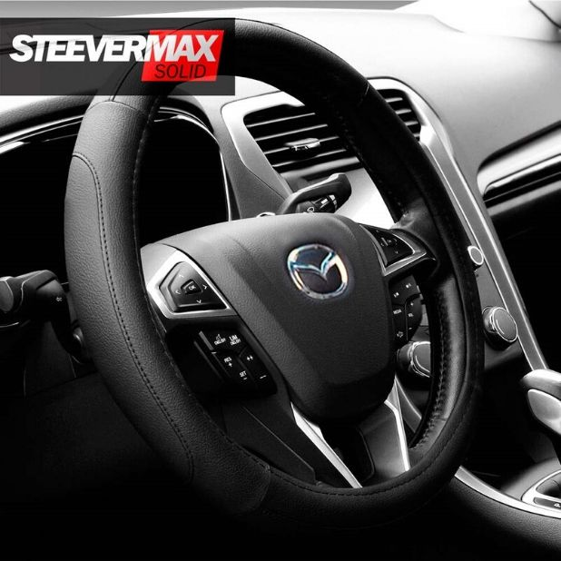 Steever Max Solid Steering Wheel Cover