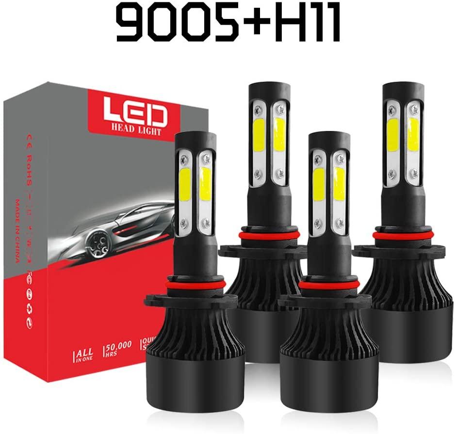 A-Partrix 9005+H11 LED headlight bulbs