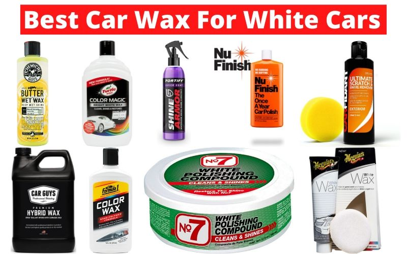 Best Car Wax For White Cars