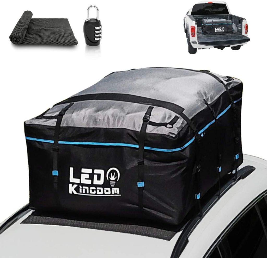LEDKINGDOMUS waterproof rooftop cargo bag