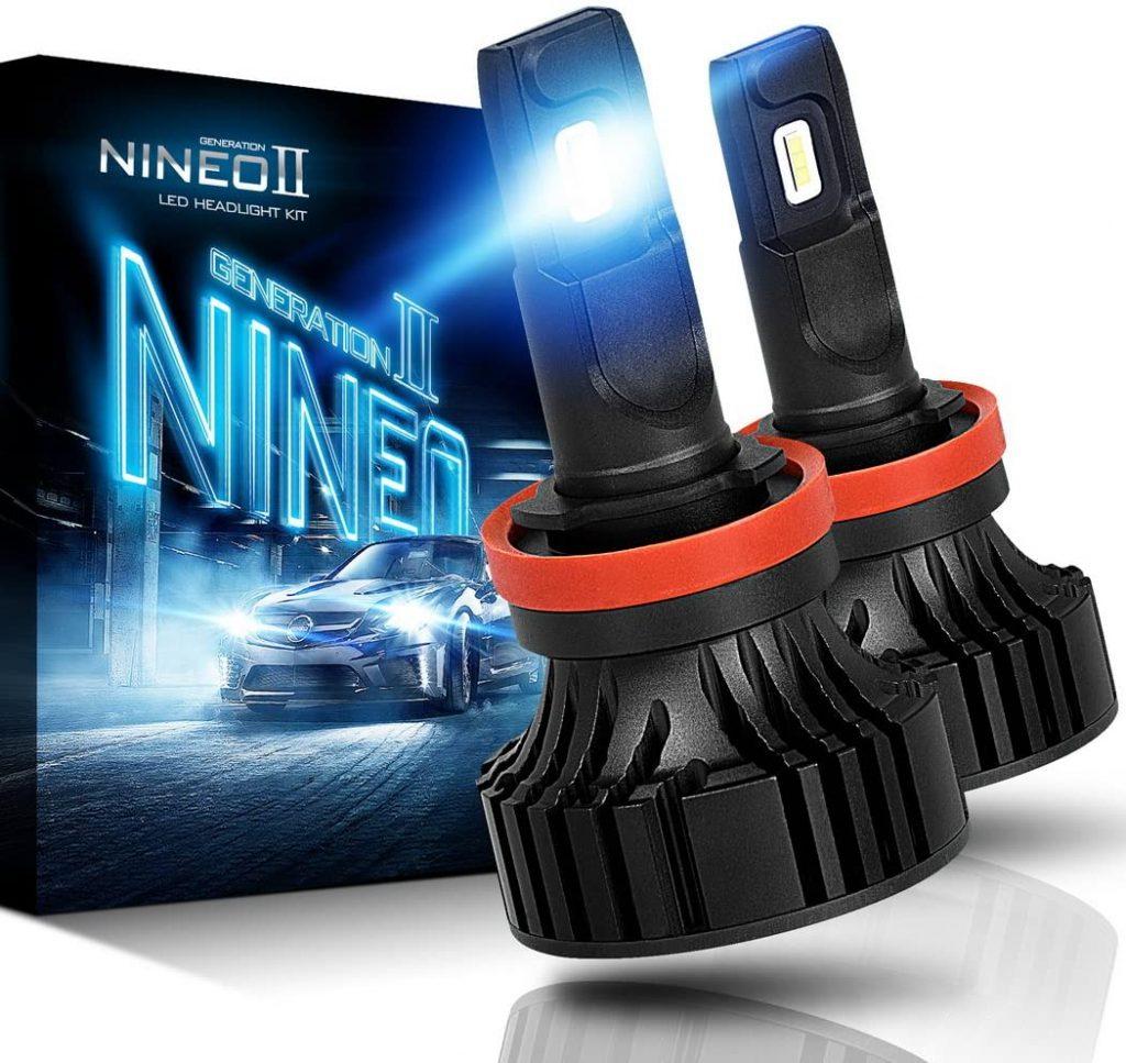 NINEO H11 LED headlight bulbs