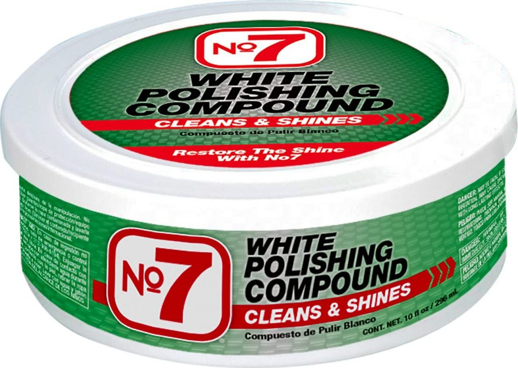 Niteo No 7 white polishing compound