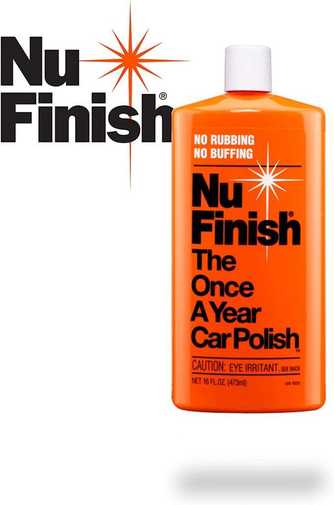 Nu-Finish NF 76 liquid car polish