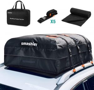Smashier car rooftop cargo carrier bag