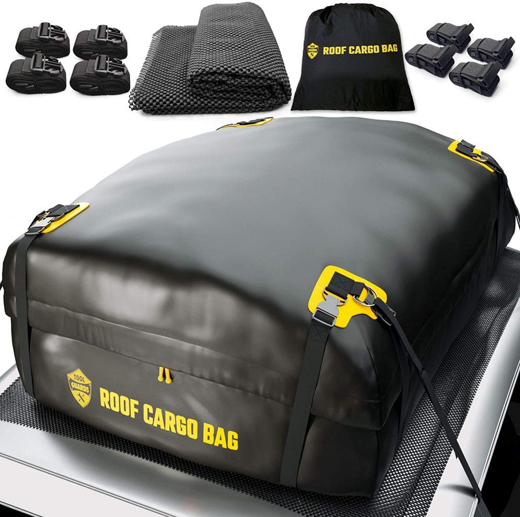 Tool Guards car top carrier roof bag + protective mat