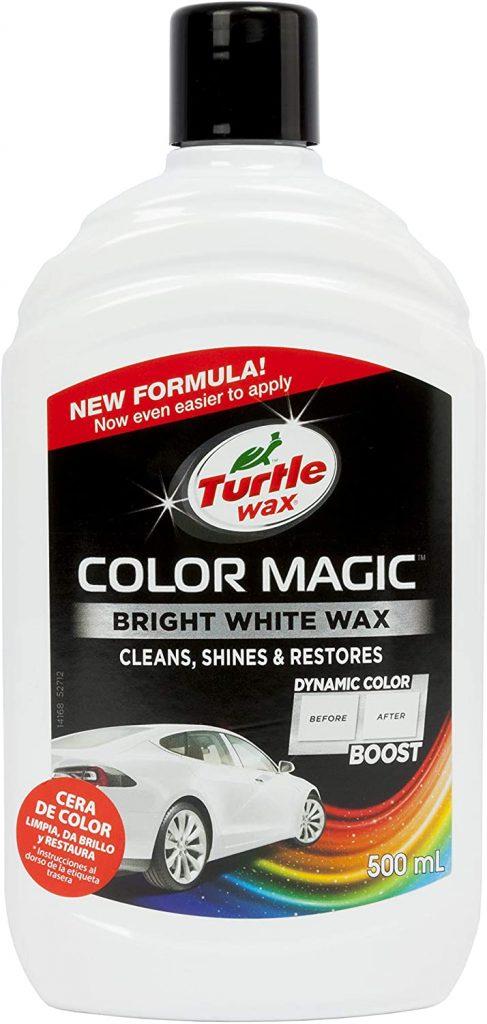 Turtle Wax color magic 52712 car polish - Bright white wax