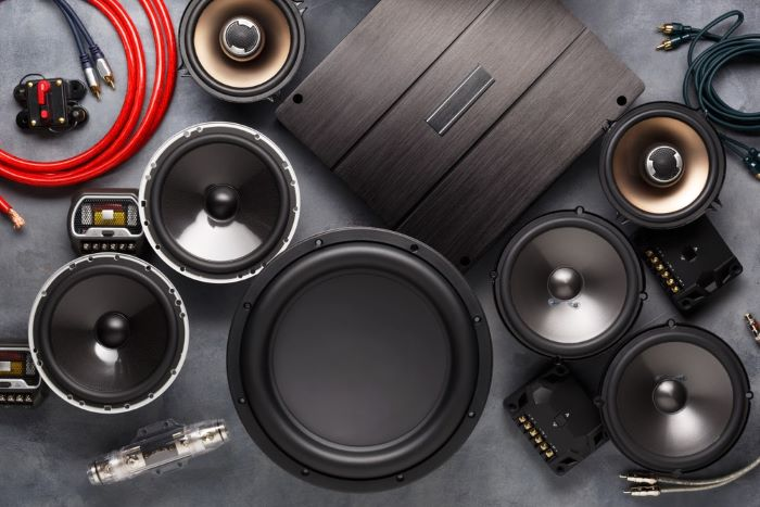 Types of 2-way and 3-way speakers