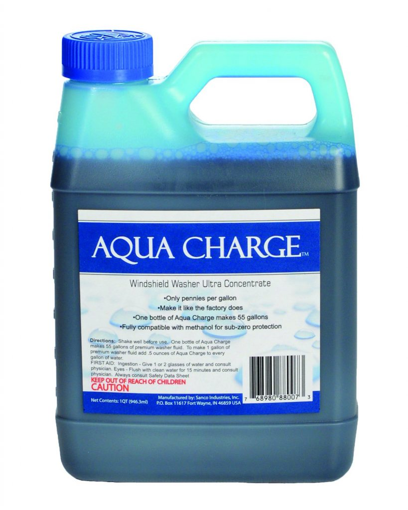 Aqua Charge Windshield Washer Ultra Concentrate