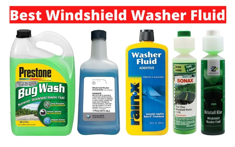 Best Windshield Washer Fluid