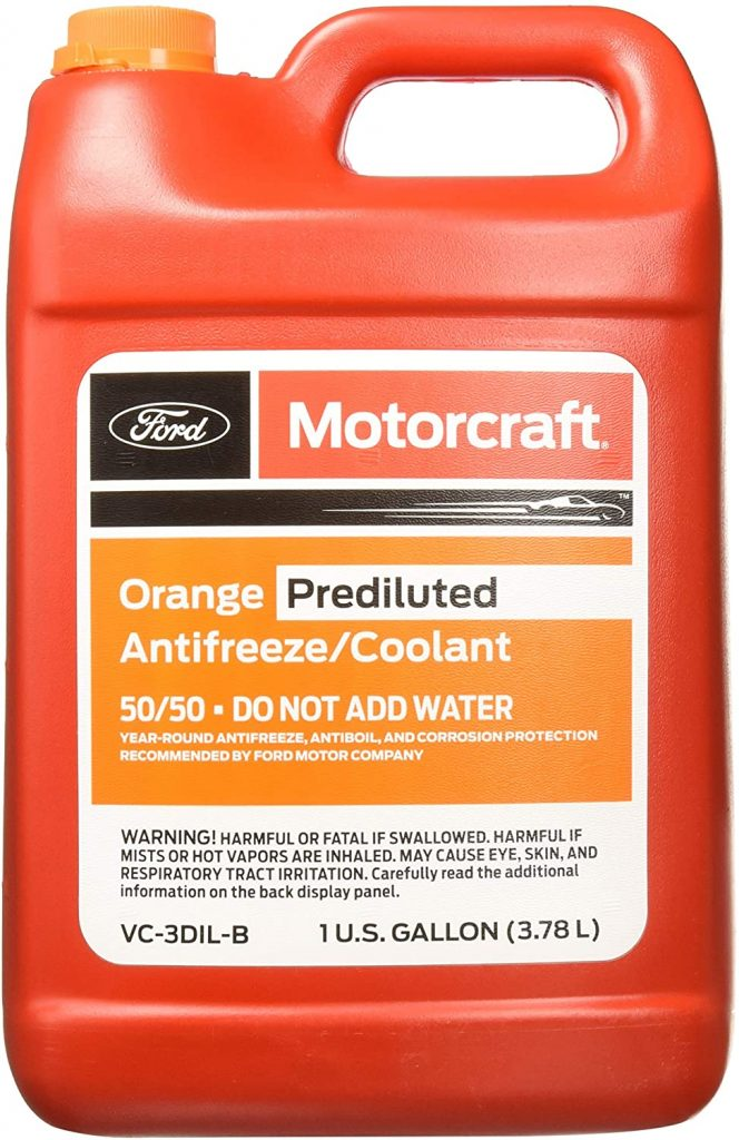 Genuine Ford Fluid Orange Pre-Diluted Antifreeze/Coolant