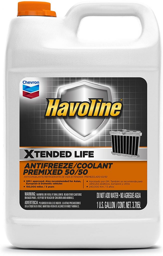 Havoline Xtended Life Antifreeze/Coolant