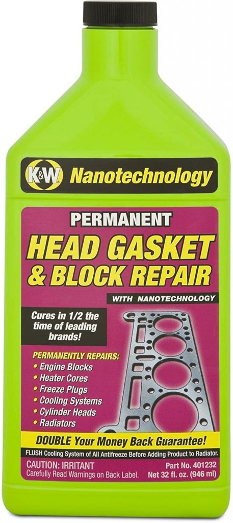 K&W 401232 Permanent Head Gasket & Block Repair
