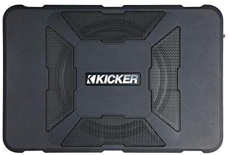 Kicker 11HS8 8 Hideaway Car Audio Powered Subwoofer