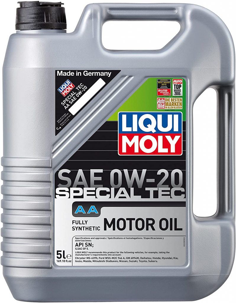 Liquimoly 2208 0W-20 Special Tec AA Motor Oil