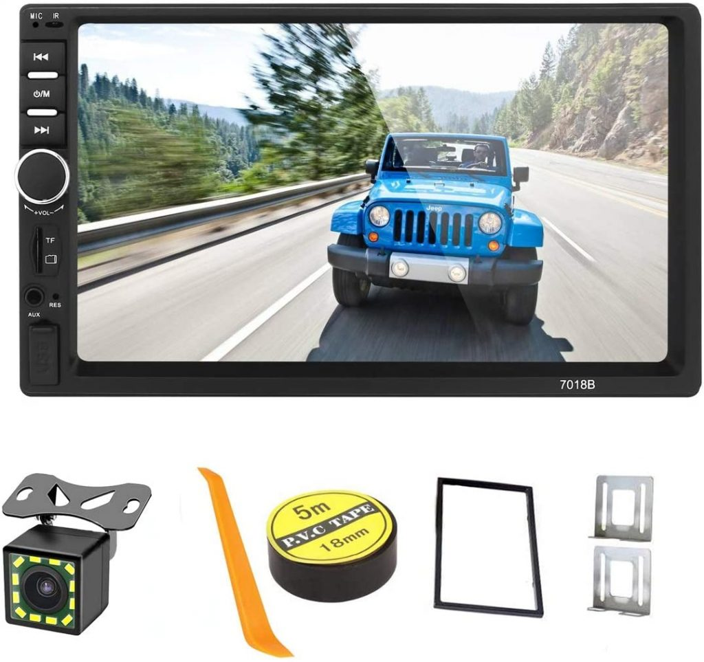 Mirror Link 7 inch capacitive touchscreen car stereo
