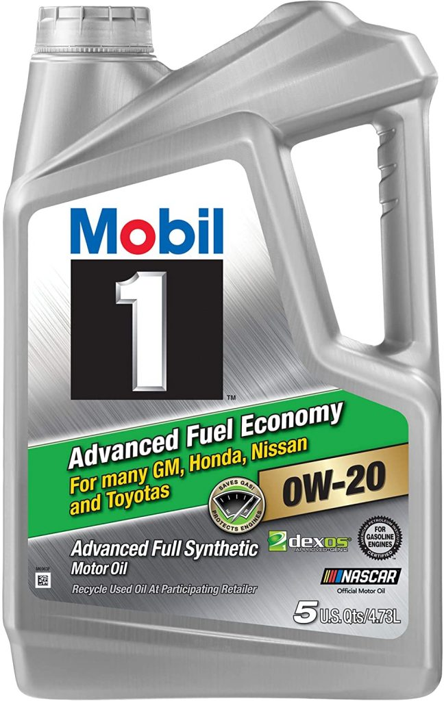 Mobil 1 Advanced Fuel Economy Full Synthetic Motor Oil
