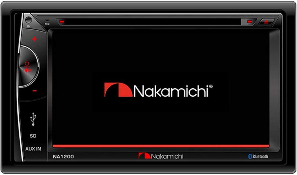 Nakamichi NA1200S in dash touchscreen car stereo