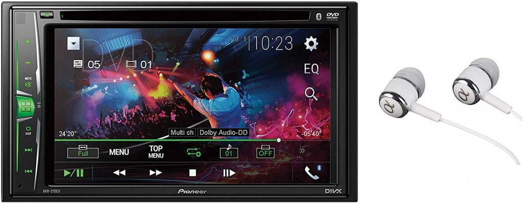 Pioneer AVH-210EX double din bluetooth car stereo