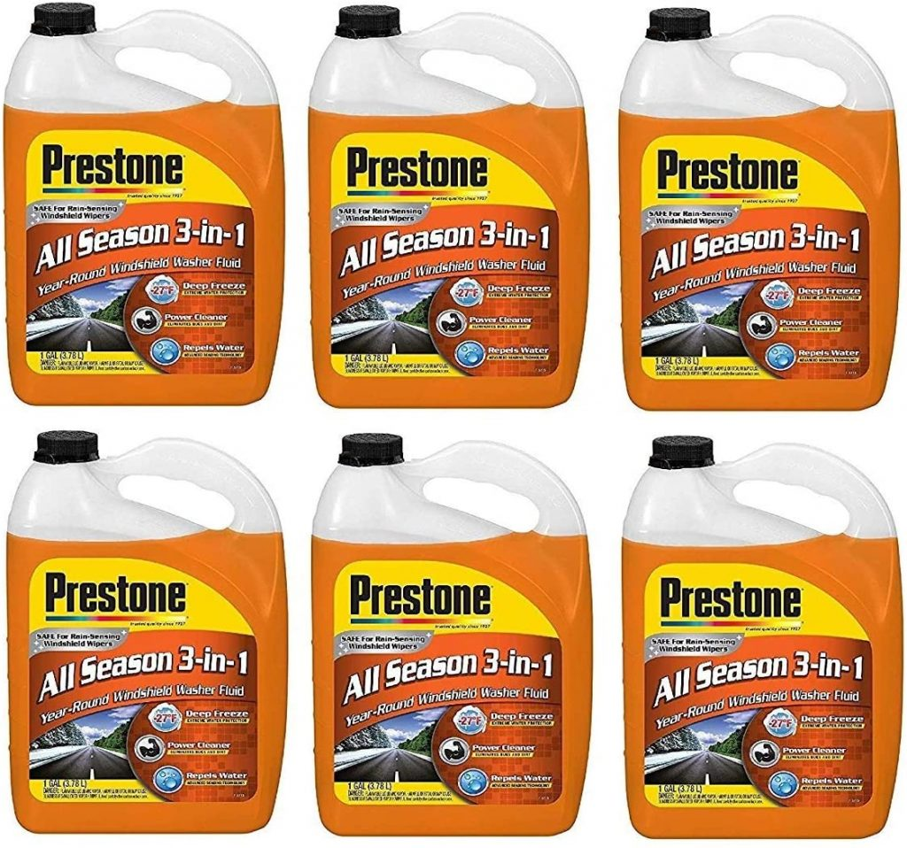 Prestone Deluxe 3-in-1 Windshield Washer Fluid