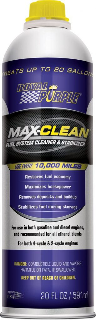 Royal Purple Max Clean Fuel System Cleaner and Stabilizer