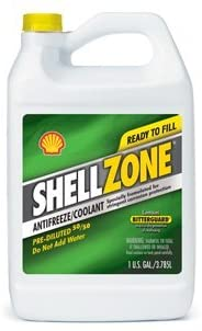 ShellZone Pre-Diluted 50/50 Antifreeze/Engine Coolant