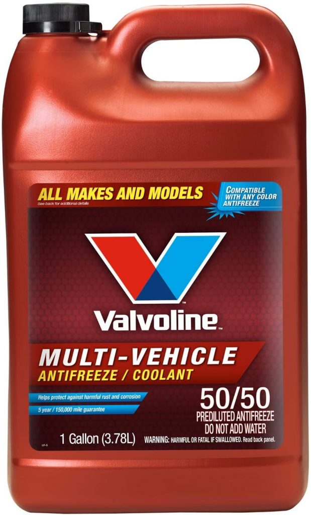 Valvoline Multi-Vehicle Ready-to-Use Antifreeze/Coolant