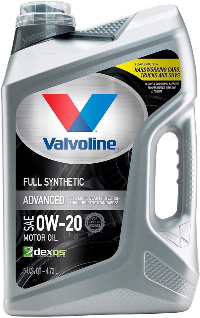 Valvoline SynPower Advanced Full Synthetic Motor Oil