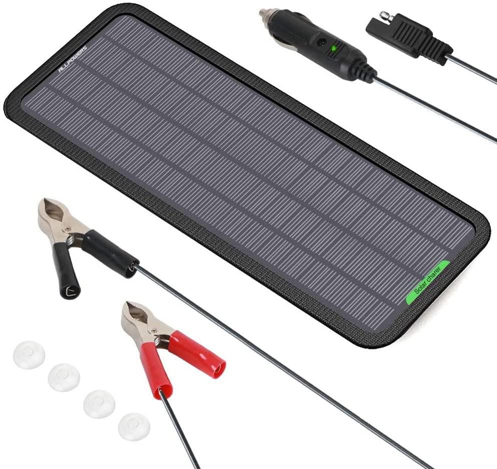 ALLPOWERS 18V 12V 5W Portable Solar Panel Car Boat Power