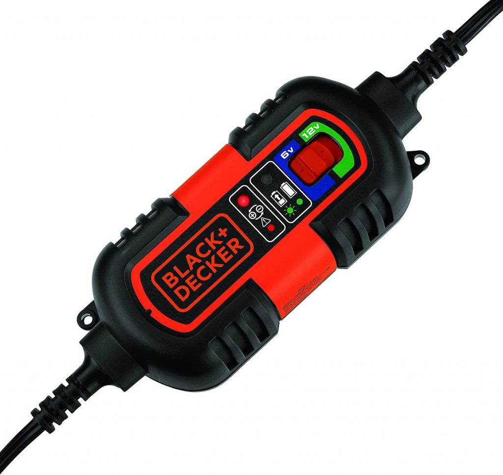 BLACK+DECKER BM3B Fully Automatic 6V/12V Battery Charger/Maintainer