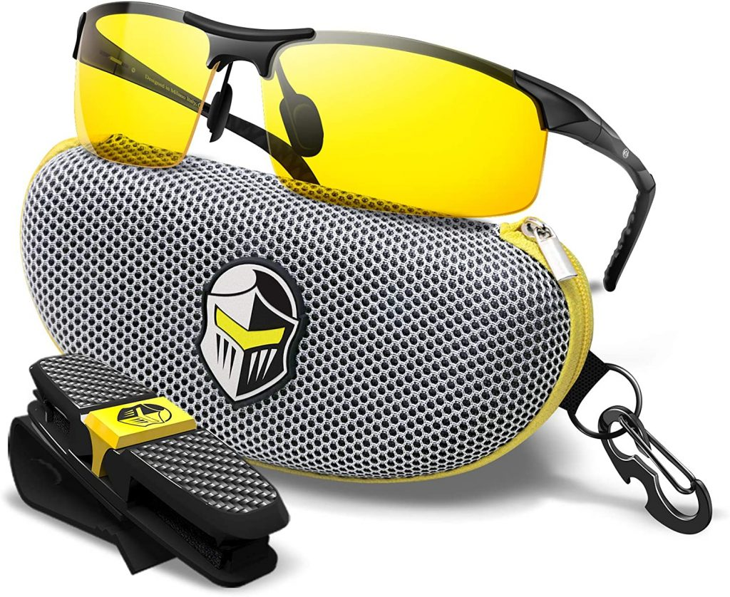 Blupond HD Vision Semi Polarized Night Driving Glasses